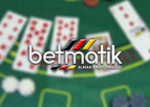 Betmatik sitesinde blackjack bahisleri nasıl yapılır ?